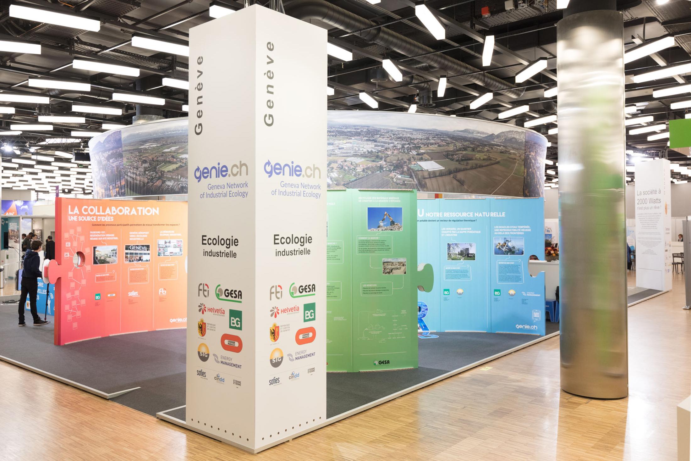 Stand aux Assises européennes de la transition énergétique