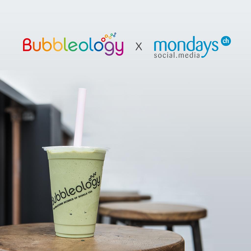 Mondays élabore une présence digitale pétillante pour Bubbleology