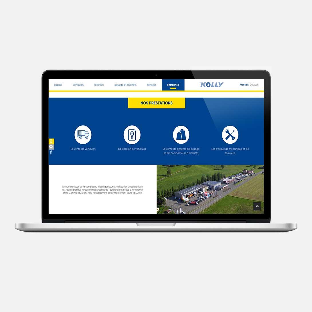 GARAGE KOLLY - Site internet