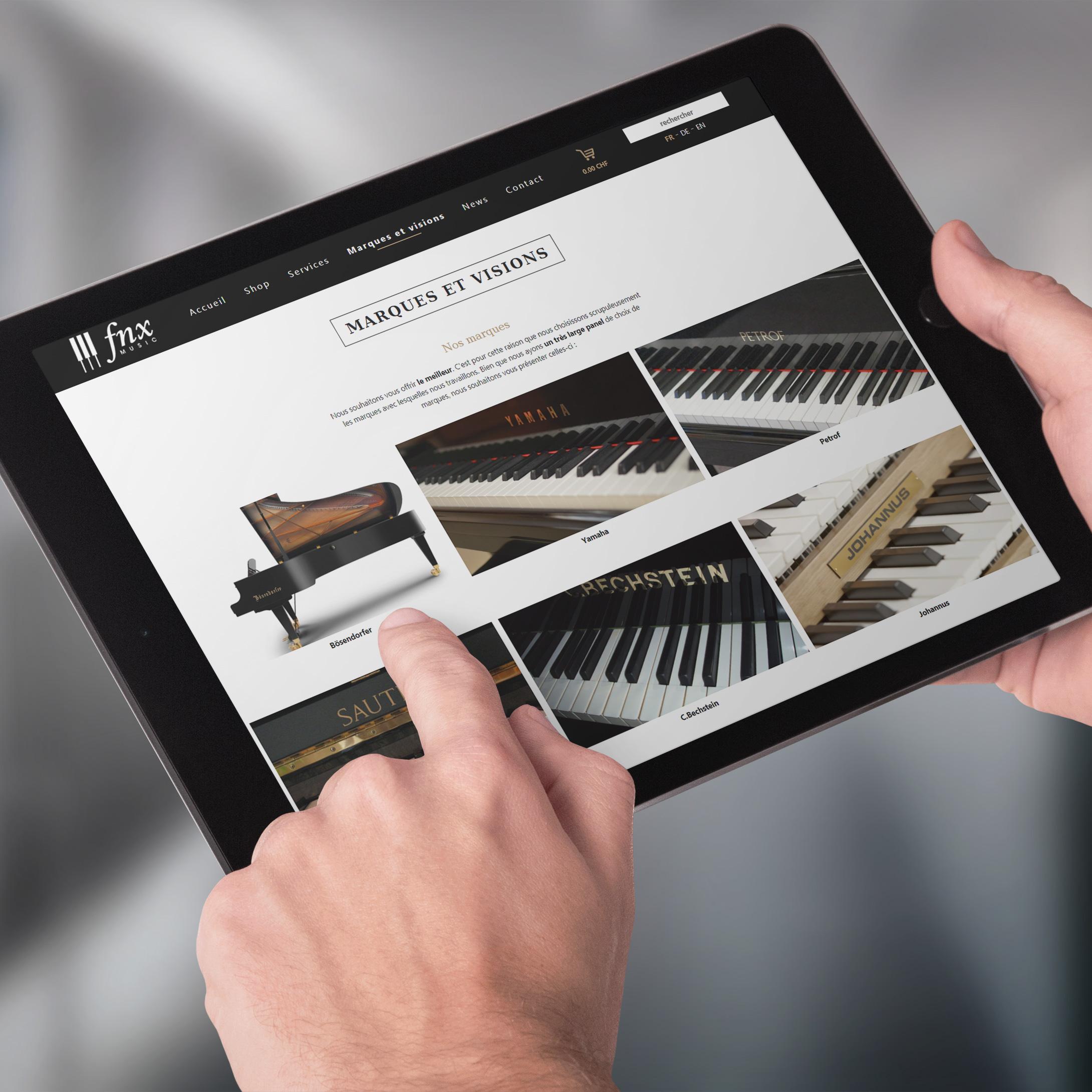 FNX - site e-commerce