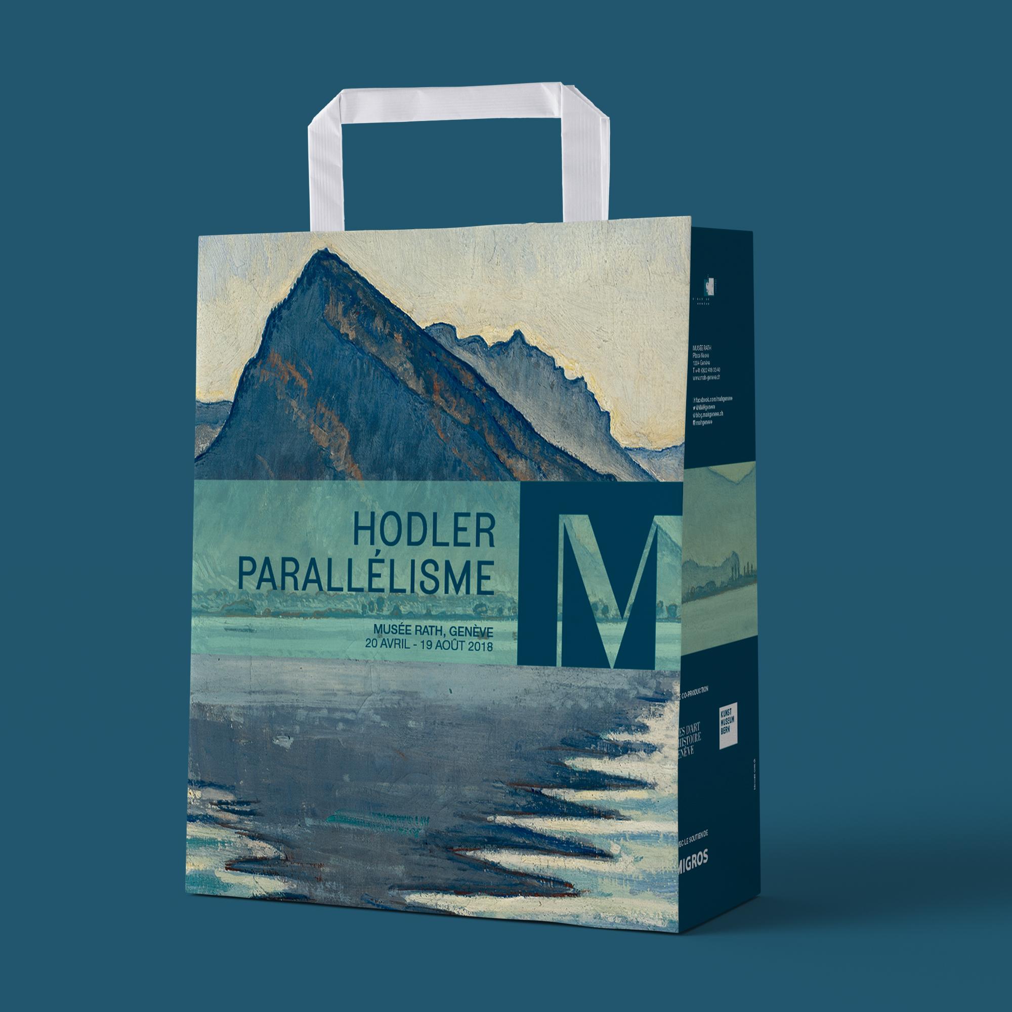 Exposition Hodler//Parallélisme