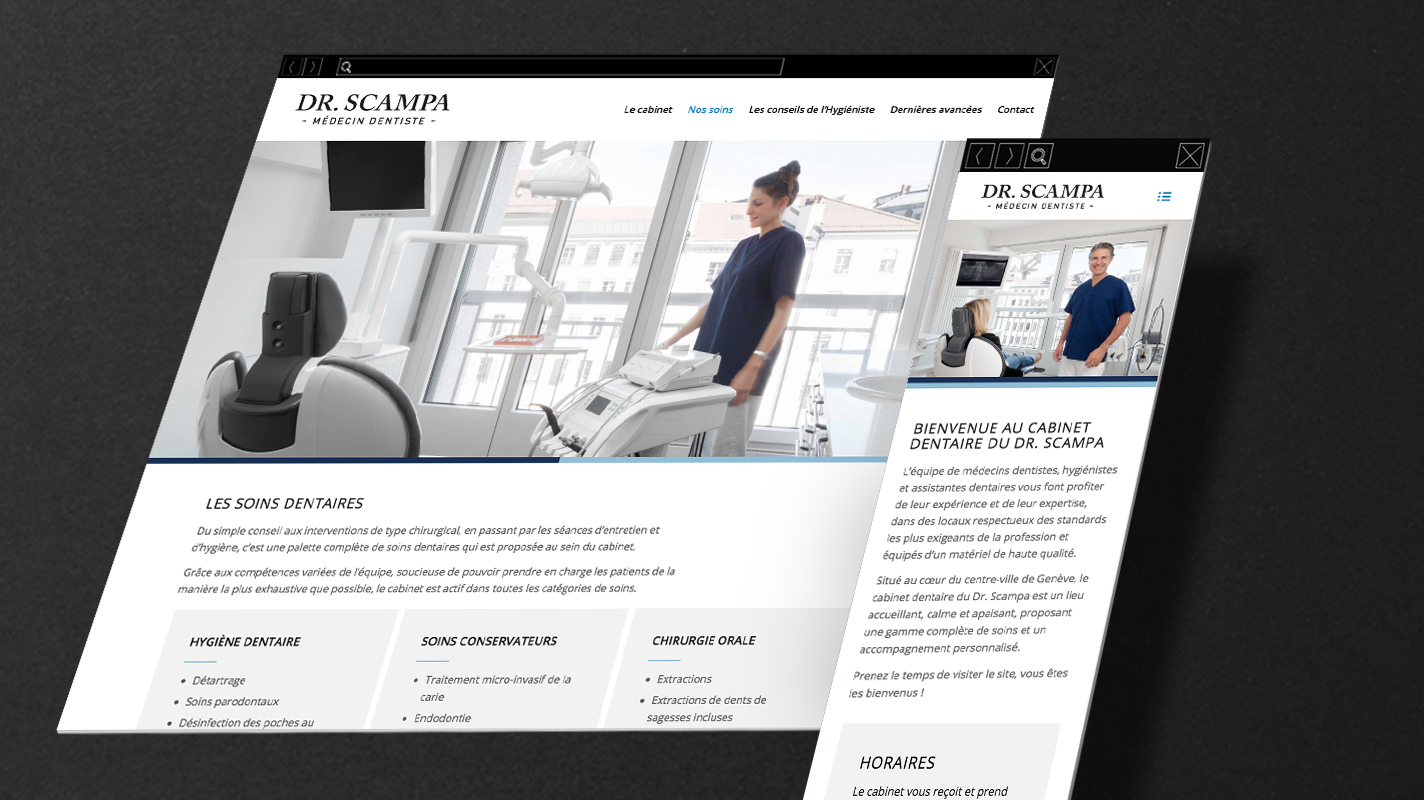 Identité visuelle et site internet