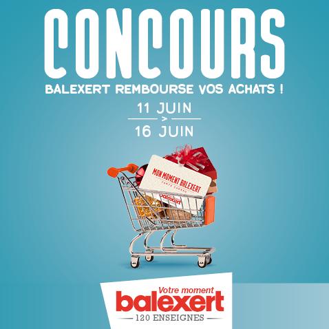 Concours « Balexert rembourse vos achats »