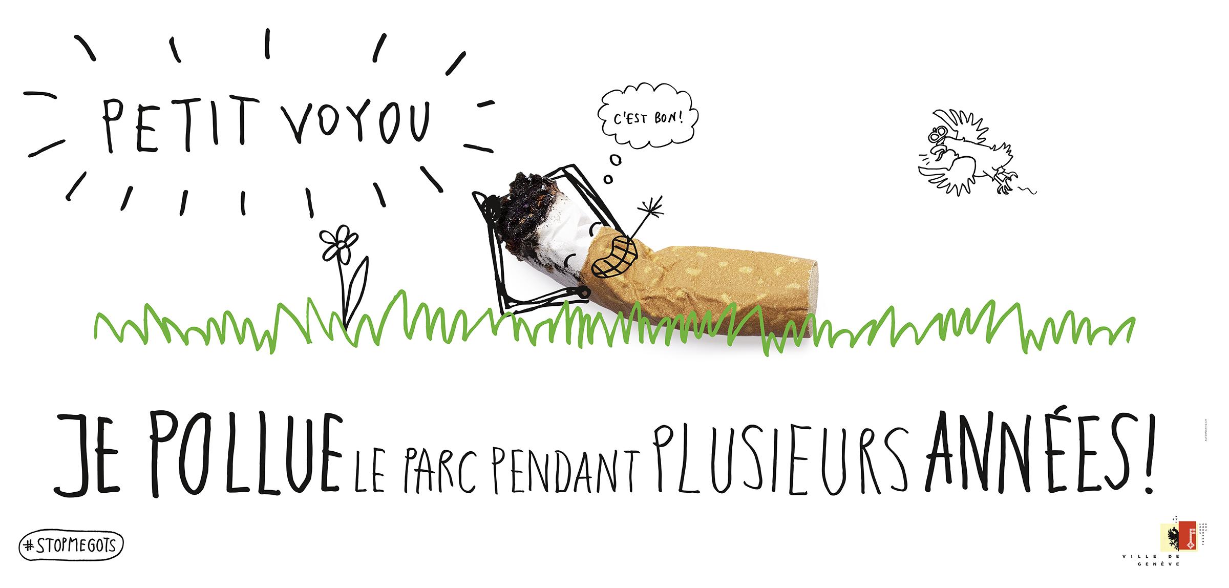 Campagne stop aux mégots