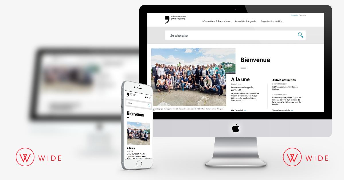 Refonte du site et ecosysteme digital