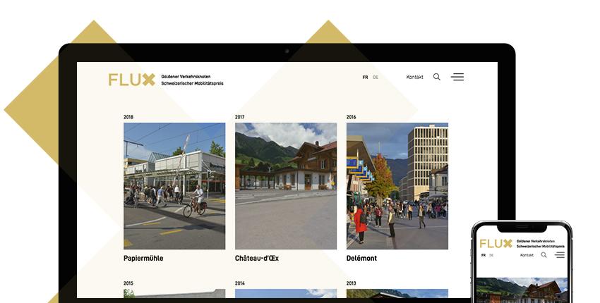 FLUX - Prix Suisse des transports publics