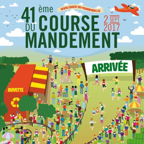 Course du Mandement 2017