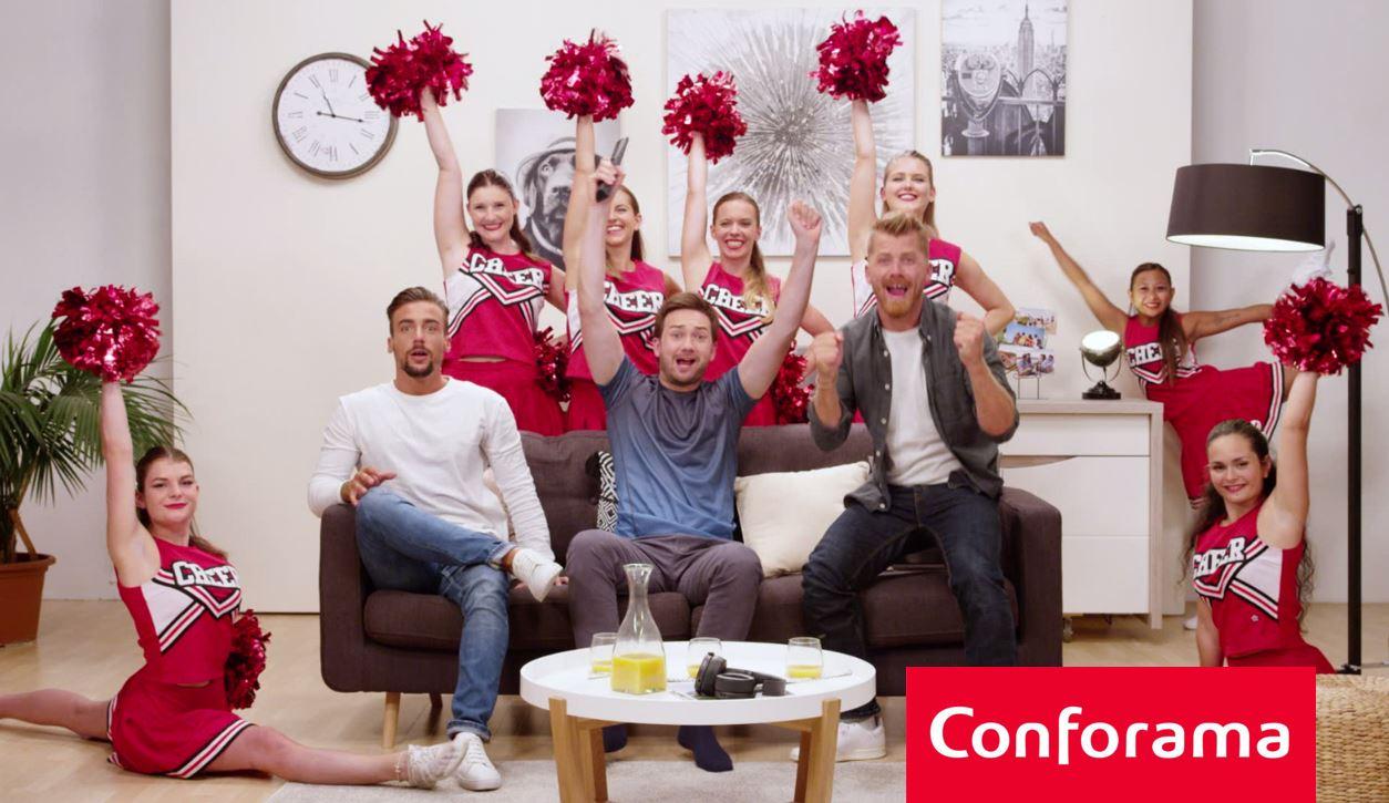 3 spots TV décalés pour le Happy anniversaire de Conforama