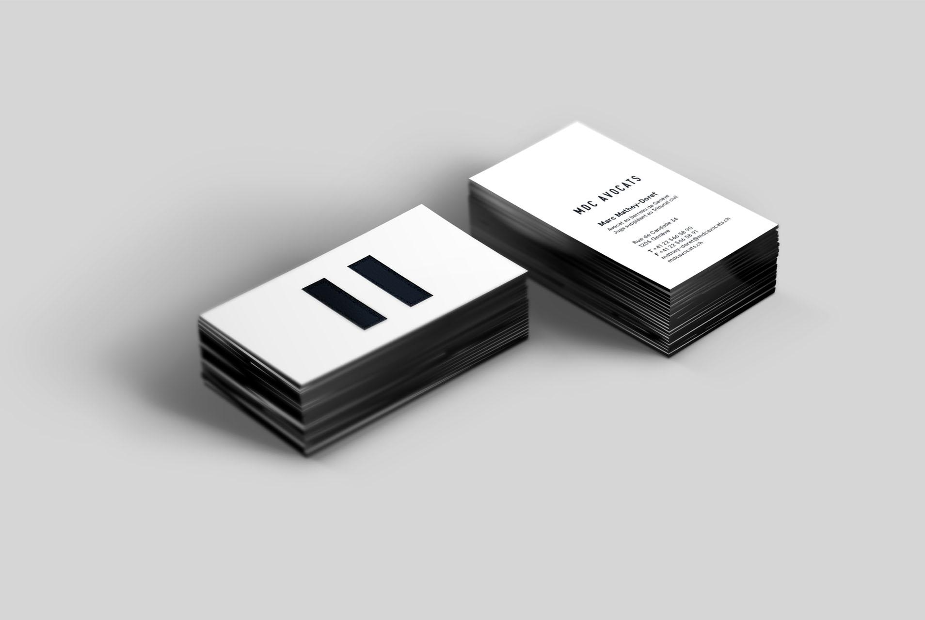 Enigma - Création du branding complet d'un cabinet d'avocats