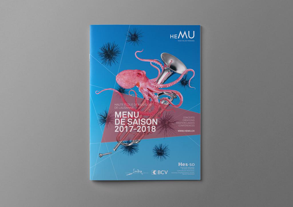 HEMU – Menu de Saison 2017