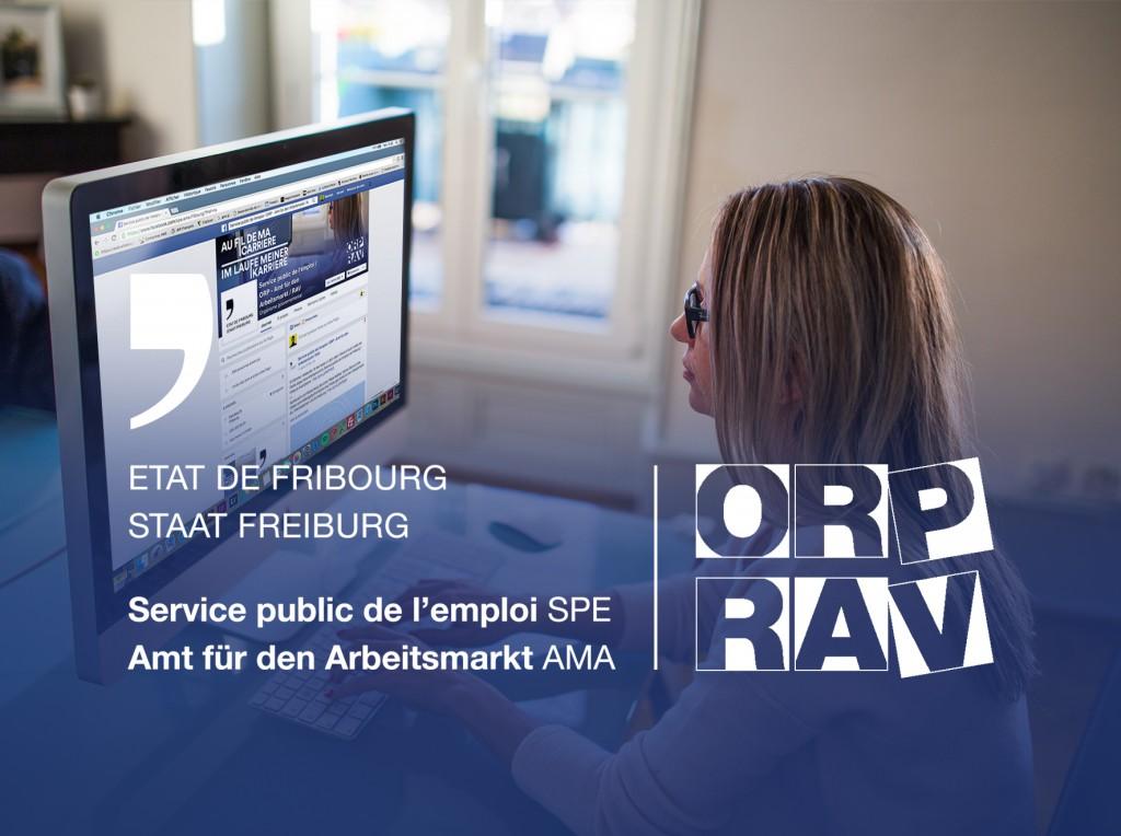 Page Facebook pour le Service de l'emploi fribourgeois
