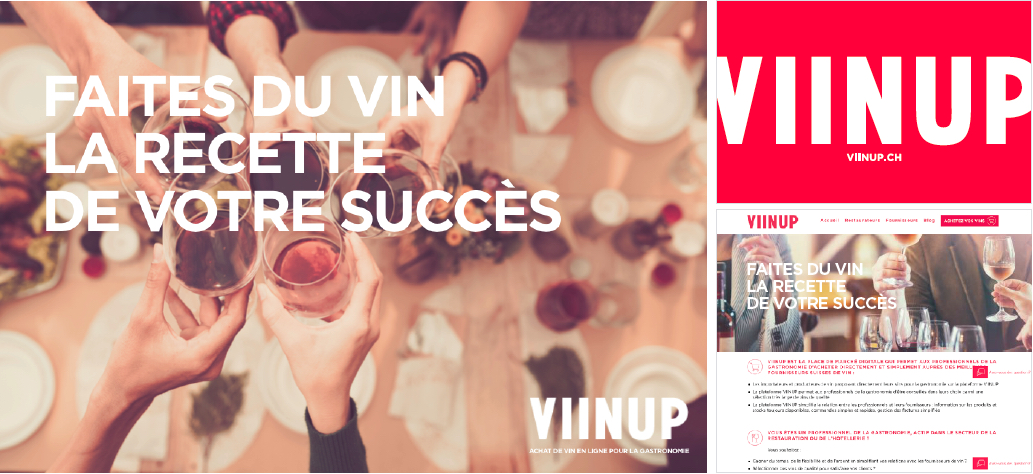 miind conseille la start-up Viinup pour son lancement