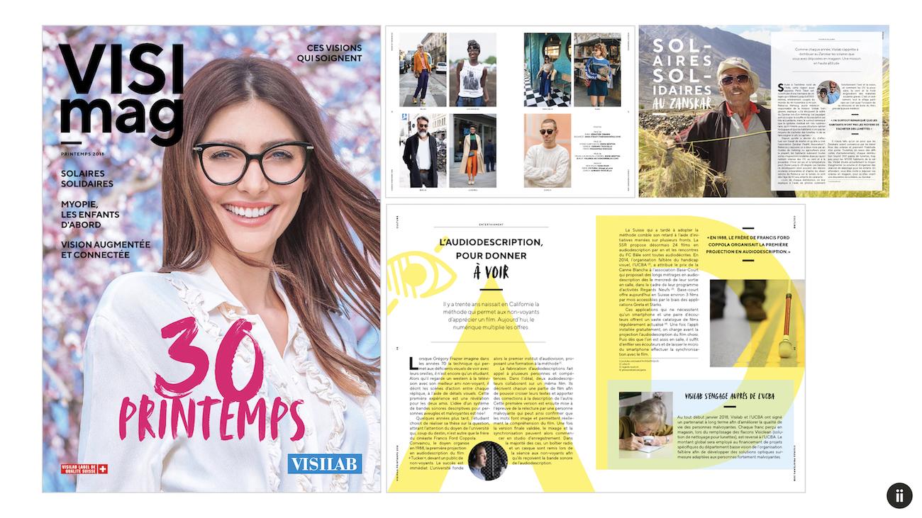 miind fête les 30 ans de Visilab avec un nouveau magazine