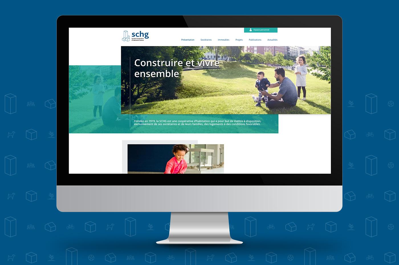 Blossom conçoit les sites internet et extranet de la SCHG