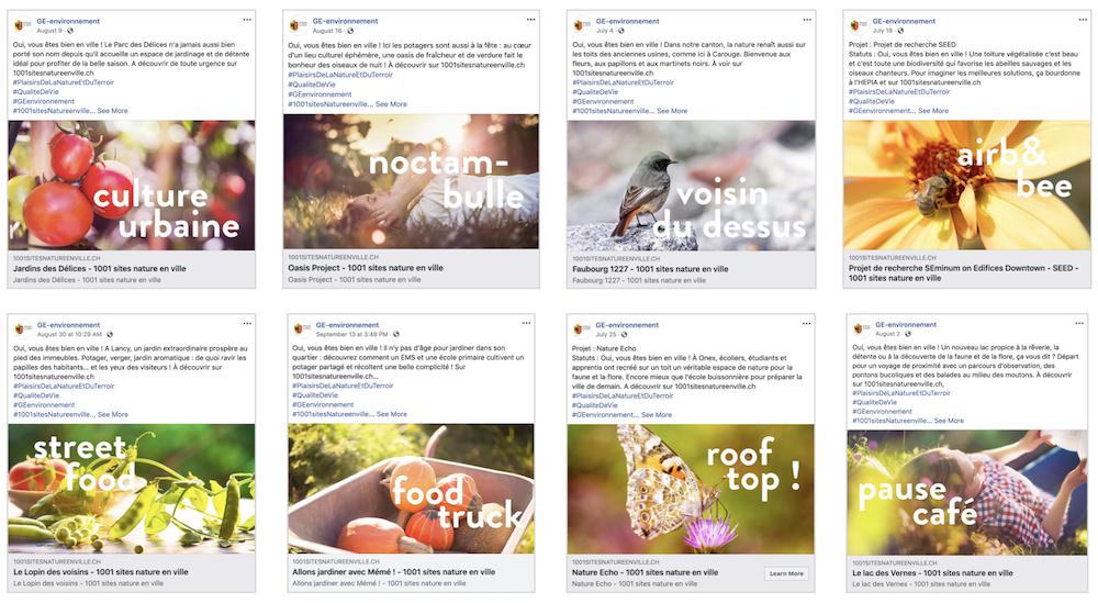 miind promeut la Nature en ville sur les réseaux sociaux