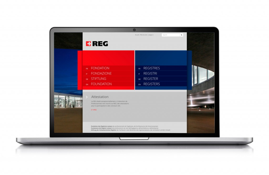 REG – Siteweb
