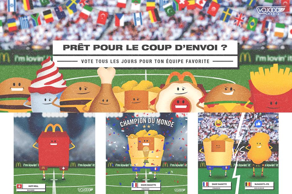 McDonald's - Coupe du Monde 2018