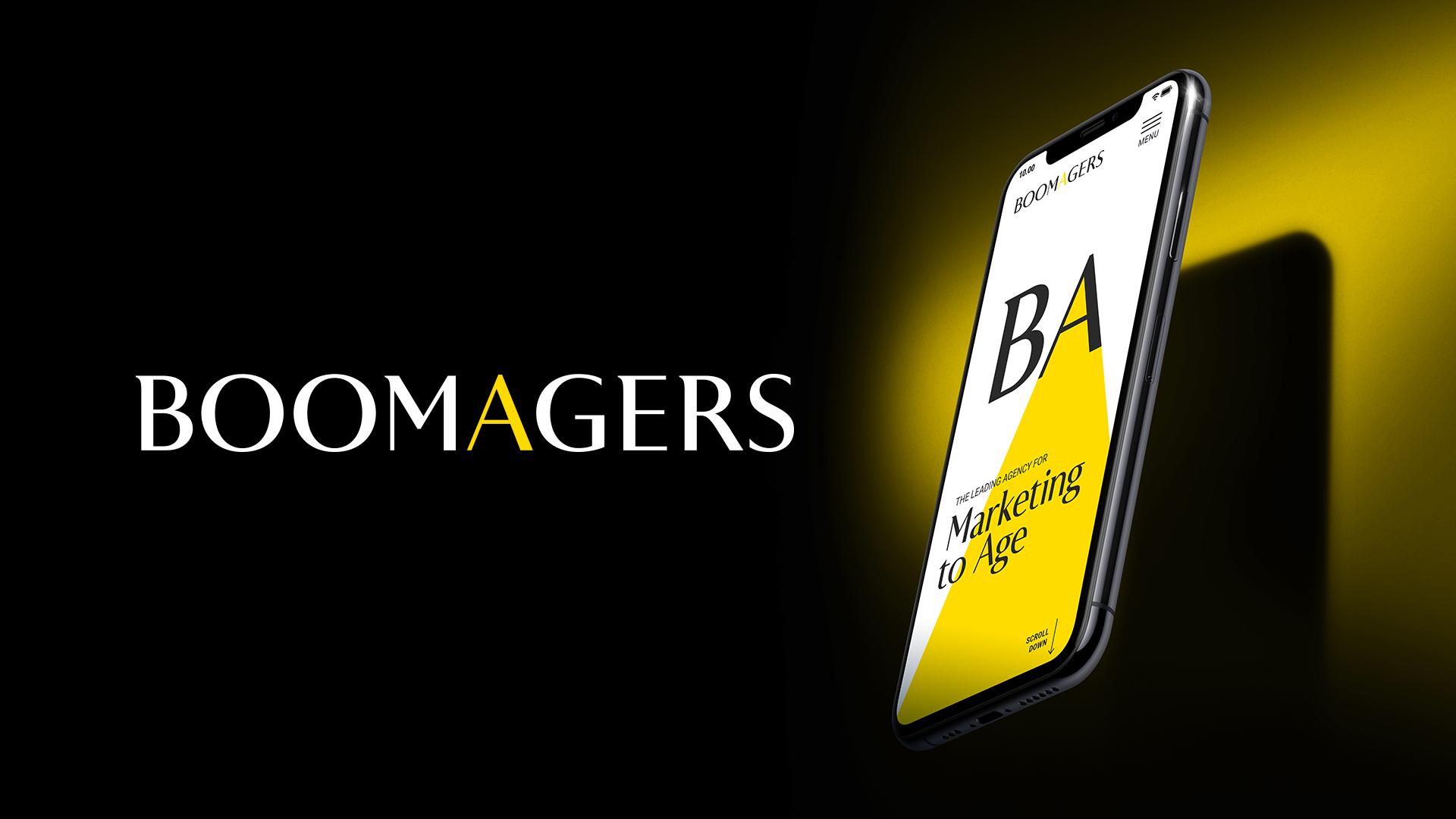 BoomAgers Branding