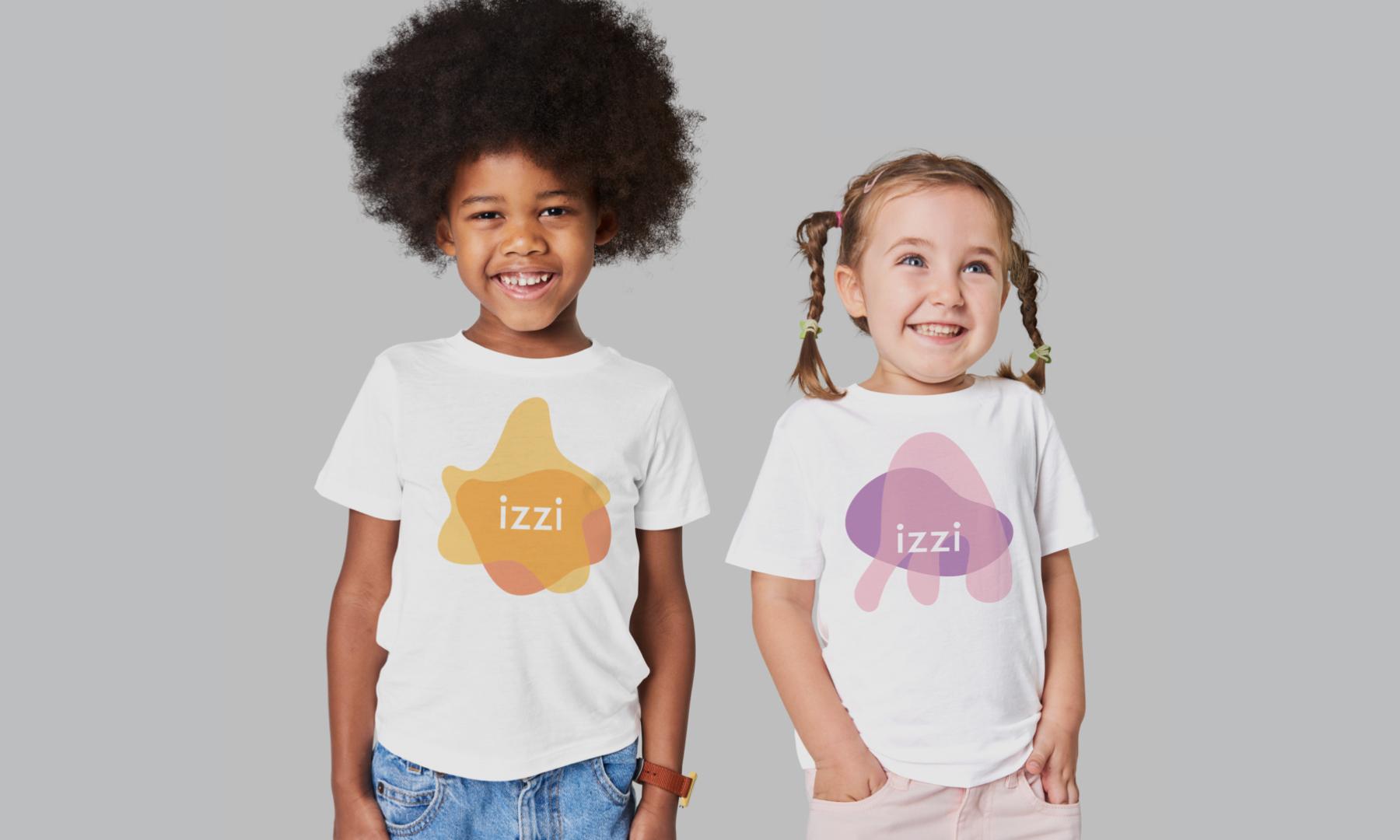 Hymn rebrand IZZI, une institution préscolaire en Californie