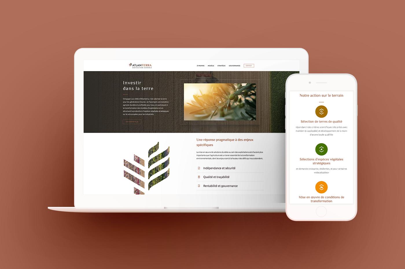 blossom accompagne le lancement de la marque Atlanterra pour répondre aux défis de l'agriculture de demain