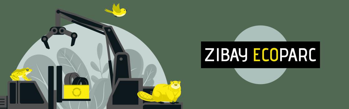 blossom développe la stratégie et l'univers visuel de ZIBAY ECOPARC